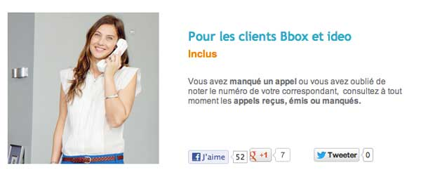 Appel Bouygues messagerie